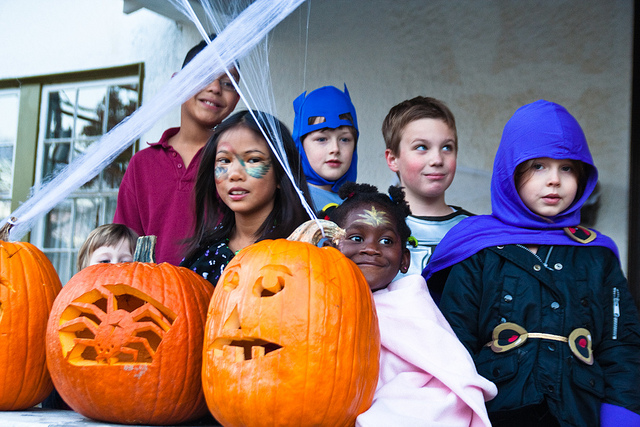 Halloween Trick-or-Treaters  (image by Steven Depolo via Flickr)