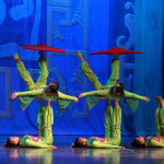 Acrobats like these are seen on CCTV's CNY Gala