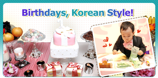 1st Birthdays are Huge Celebrations in Korea