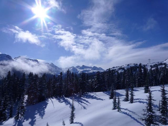 BC's natural splendor- Breathtaking views atop Whistler mountain