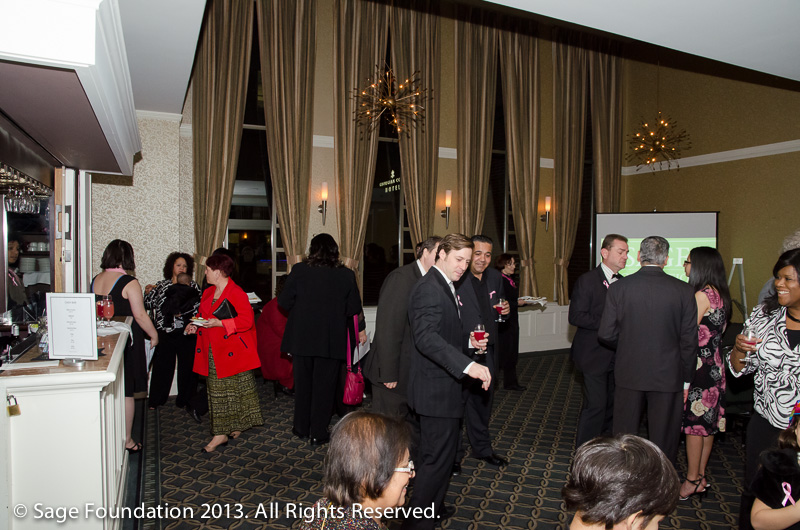 Sage Awards 2012 - Guests and Honorees mingle