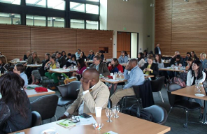 Guests attending the Seattle Marketing Summit 2015, a very Multicultural Mix