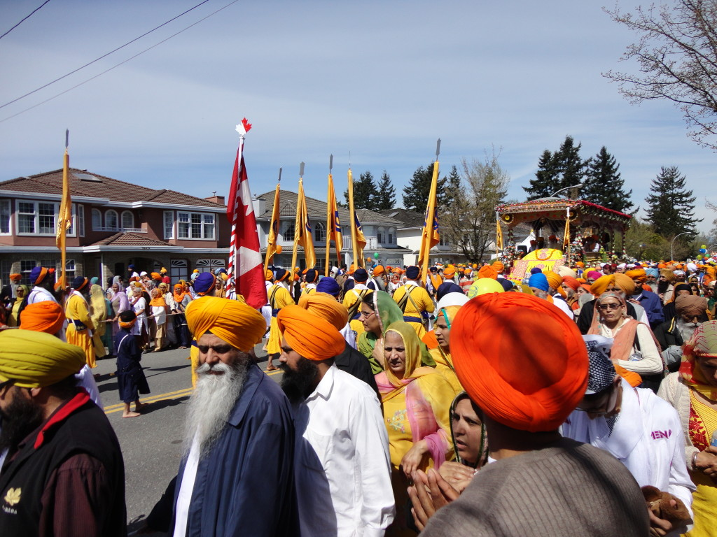 Colourful Vaisakhi Parade in Surrey, BC #Vaisakhi #VaisakhiParade #VaisakhiEvents