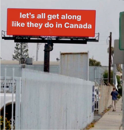 Drake Captured Canada's Peaceful Ways in a Catchy Billboard. But we ask: could Canadians do More for World Peace?