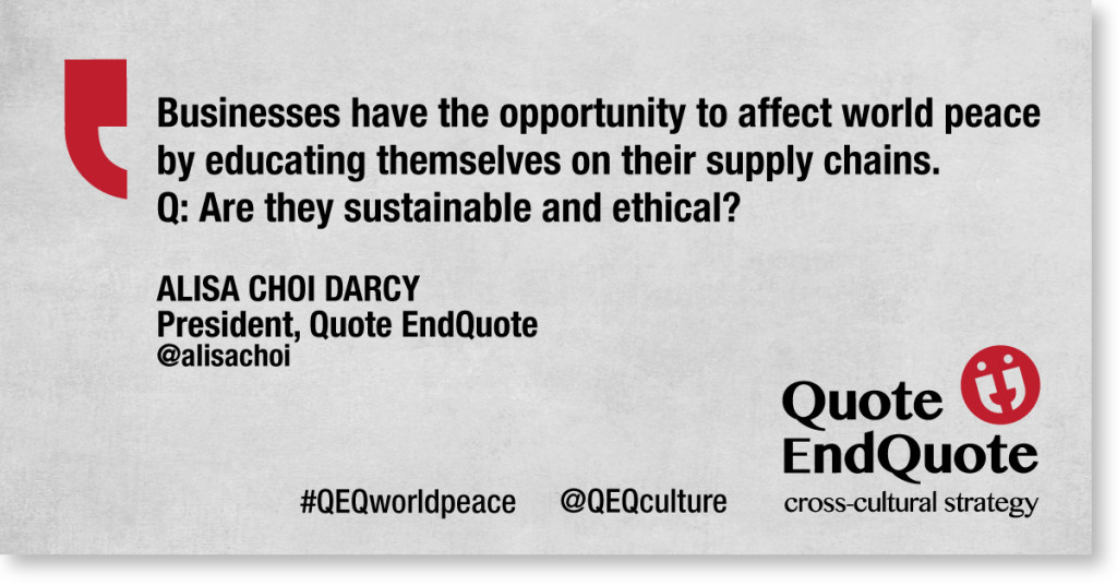 A Soon-To-Be- Famous Quote from QEQ President Alisa Choi Darcy