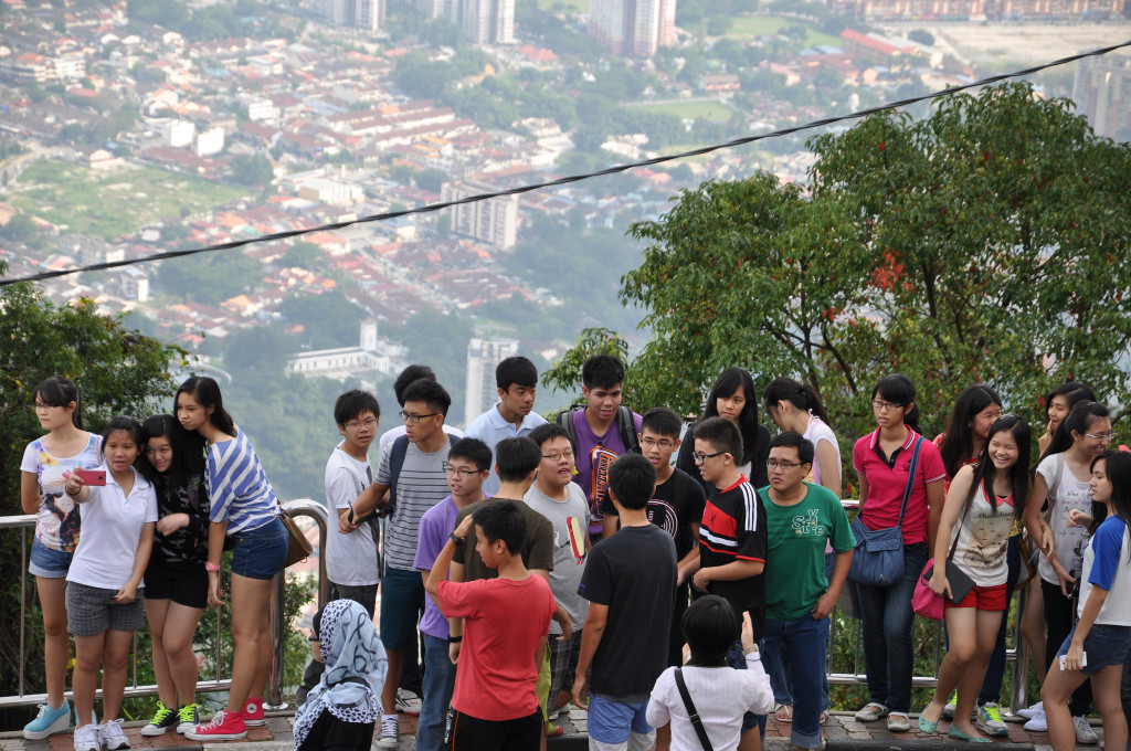 Chinese Students are Among the Most Mobile Student Populations, such as these Students, who have Come to Malaysia on a Study Program
